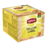 Herbata LIPTON Yellow Label, 200 torebek
