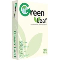 DOUBLE A GREEN LEAF กระดาษถ่ายเอกสาร A4 80 แกรม 1 รีม บรรจุ 500 แผ่น