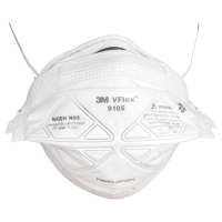 3M P2 DISPOSABLE VFLEX PLEATED RESPIRATOR - PACK OF 2