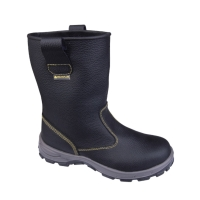 DELTAPLUS ONTARIO SAFETY BOOTS - BLACK - SIZE 39