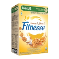 NESTLE FITNESSE HONEY ALMOND CEREAL 390G