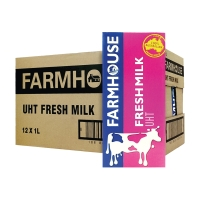 FARMHOUSE FRESH MILK UHT 1L - PACK OF 12