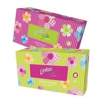 Linteo Satin hygienické kapesníky 2-vrstvé v balení s uzavíratelným otvorem