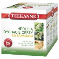 Čaj Teekanne Prechladnutie so zázvorom, 10 vrecúšok à 2 g